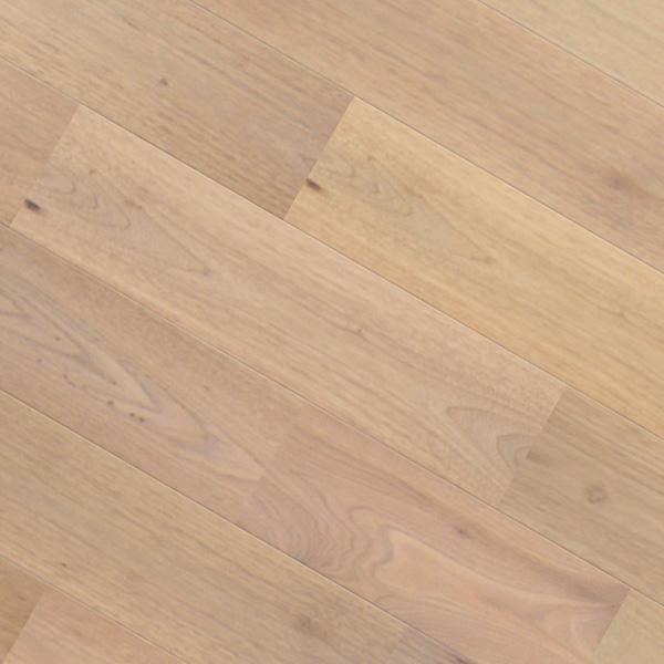 クルミ(シルバー・ウォルナット) ユニ 無垢フローリング【ナチュラル】無塗装 15×130×1820mm