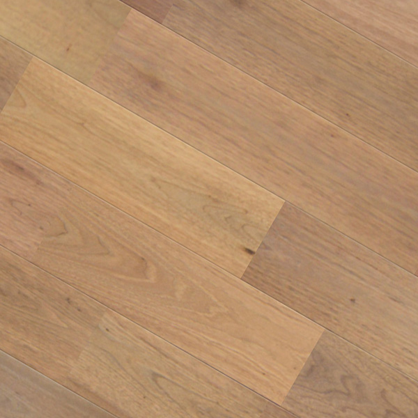 クルミ(シルバー・ウォルナット) ユニ 無垢フローリング【ナチュラル】オイル仕上げ(透明つや消し) 15×130×1820mm