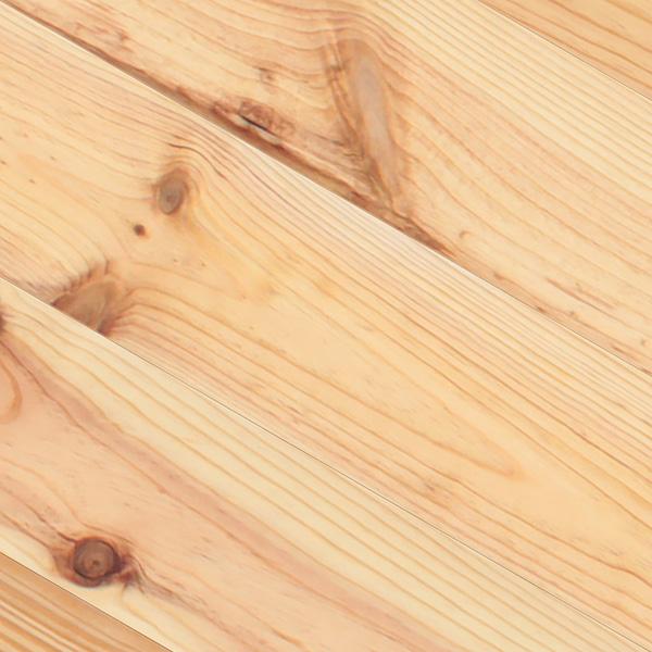 マツ / 松(ボルドー・パイン) 一枚もの 無垢フローリング【ラスティック】オイル仕上げ(透明つや消し) 21×220×2000mm