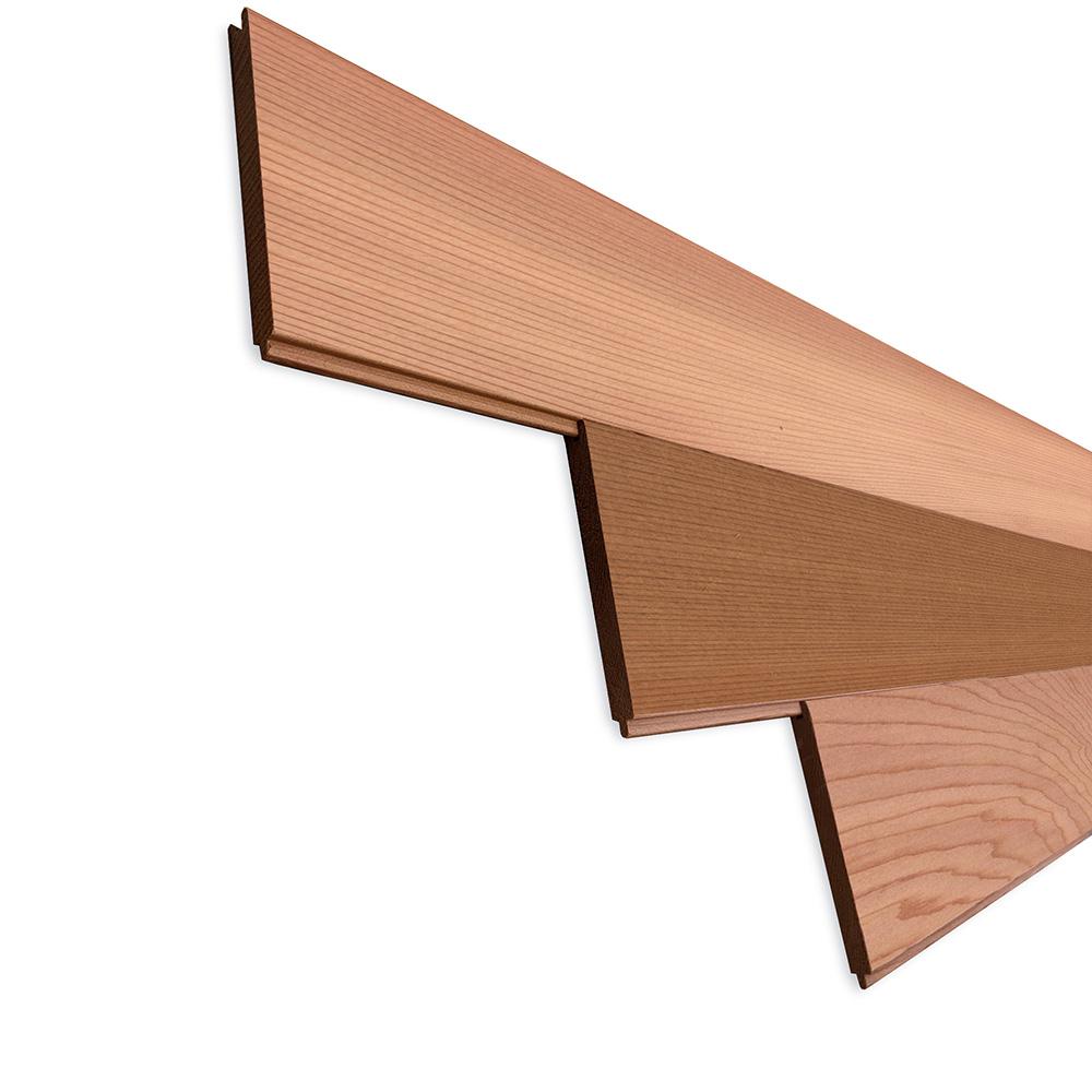 レッドシダー(ベイスギ / 米杉) 羽目板 ウォールパネル【プレミアム】無塗装 8×88×2440mm