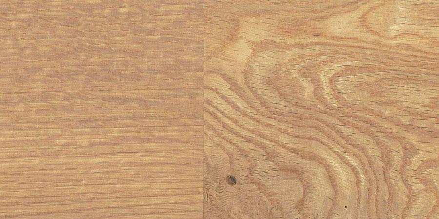 オークの無垢フローリング × No.022「ビーチ」