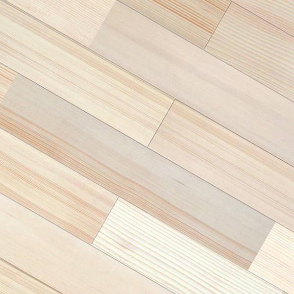 ファー(モミ / 籾) ユニ 無垢フローリング【プレミアム】自然塗料(透明つや消しオイル仕上げ) 15×115×1820mm