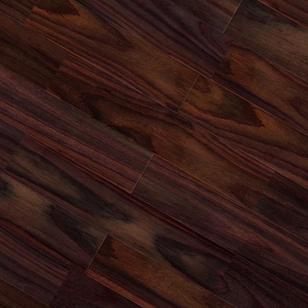 ローズウッド(ソノクリン / 紫檀) ユニ 無垢フローリング【プレミアム】オイル仕上げ(透明つや消し) 15×90×1820mm