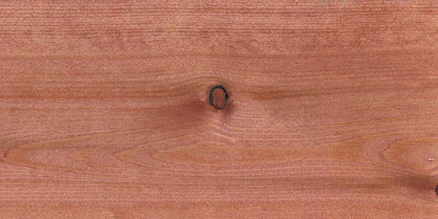 パインの無垢フローリング × W-09 「マホガニー」
