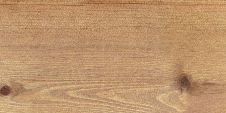 パインの無垢フローリング × W-12 「ミディアムウォルナット」