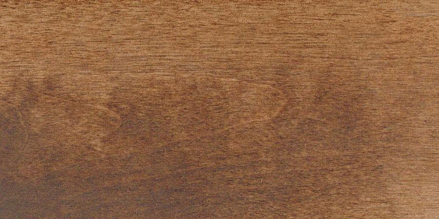 バーチの無垢フローリング × W-13 「ダークウォルナット」