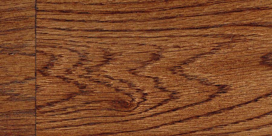 オークの無垢フローリング × W-13 「ダークウォルナット」