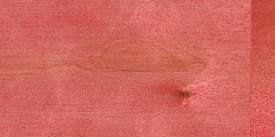 バーチの無垢フローリング × F-50 「ワインレッド」