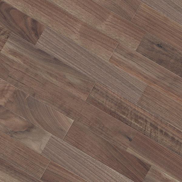 床暖房対応 ブラックウォルナット ユニ 無垢フローリング【プレミアム】自然塗料(透明つや消しオイル仕上げ) 15×75×1818mm