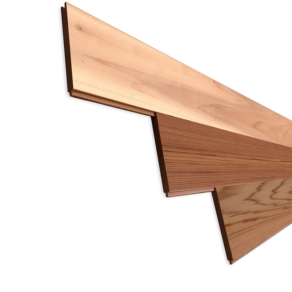 レッドシダー(ベイスギ / 米杉) 羽目板 ウォールパネル【プレミアム】無塗装 8×88×2740mm
