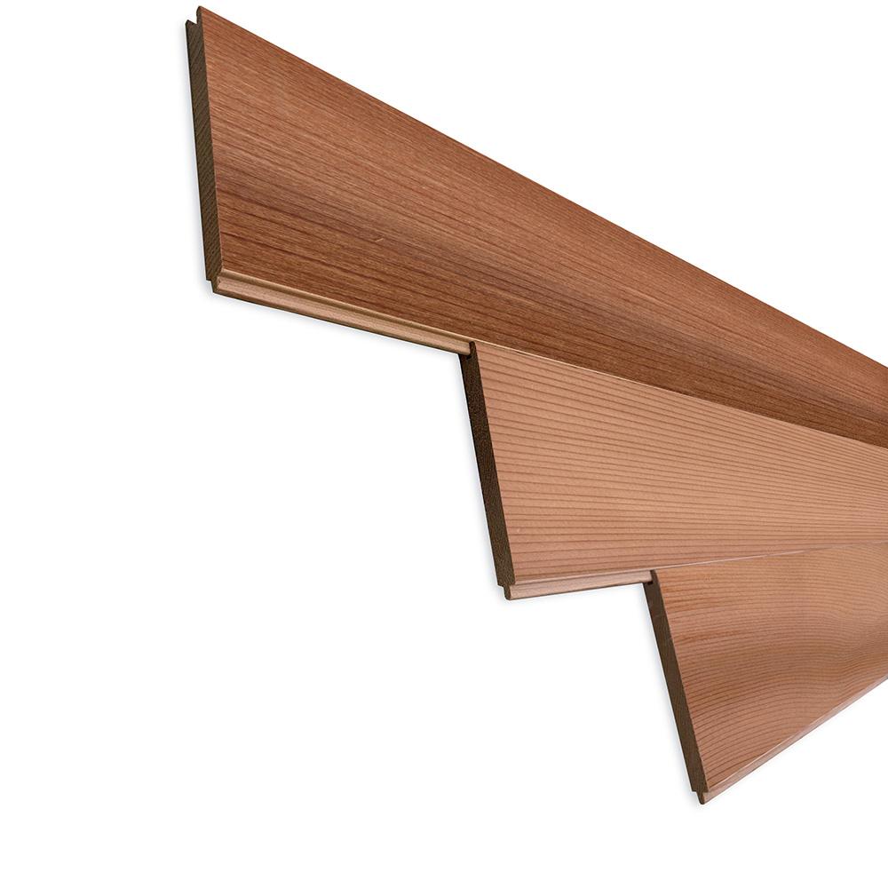 レッドシダー(ベイスギ / 米杉) 羽目板 ウォールパネル【プレミアム】無塗装 8×88×3050mm