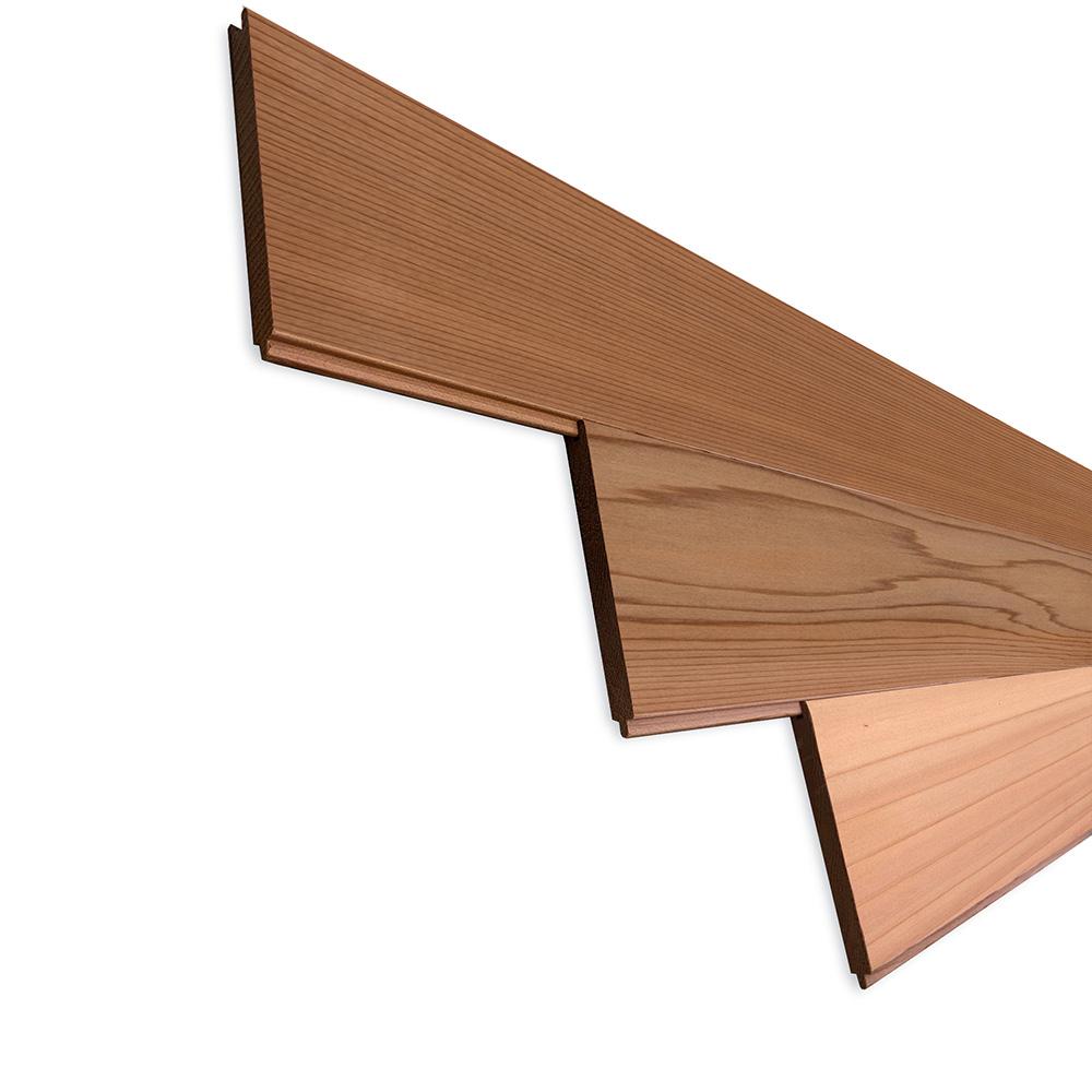 レッドシダー(ベイスギ / 米杉) 羽目板 ウォールパネル【プレミアム】無塗装 8×88×507mm