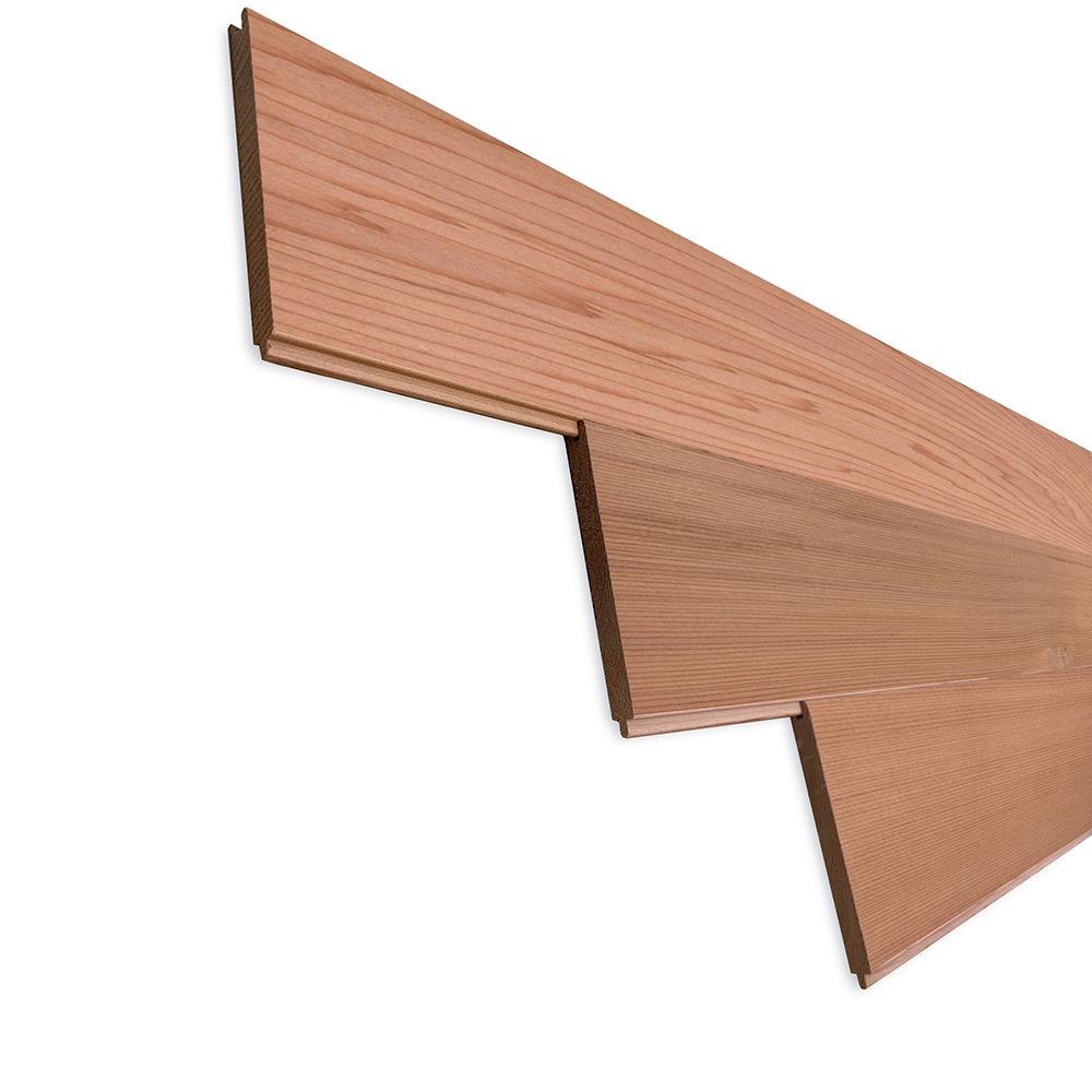 レッドシダー(ベイスギ / 米杉) 羽目板 ウォールパネル【プレミアム】無塗装 8×88×706mm