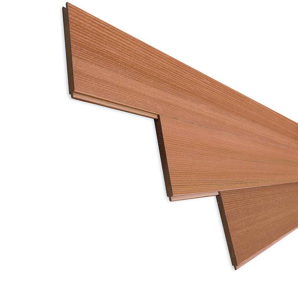 レッドシダー(ベイスギ / 米杉) 羽目板 ウォールパネル【プレミアム】無塗装 8×88×806mm