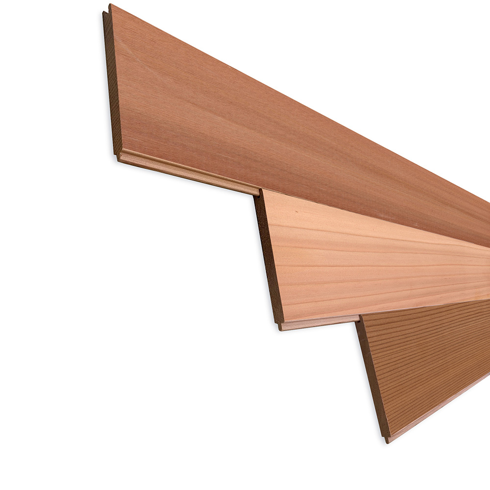 レッドシダー(ベイスギ / 米杉) 羽目板 ウォールパネル【プレミアム】無塗装 8×88×815mm